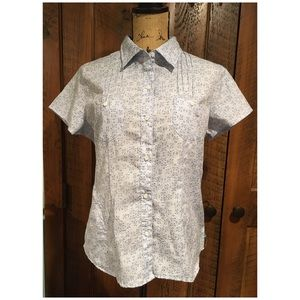 North Face Button Down Short Sleeves Shirt